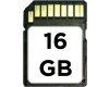 16 GB SD card with OpenELEC preinstalled